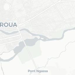 Carte de Maroua PlanMaroua