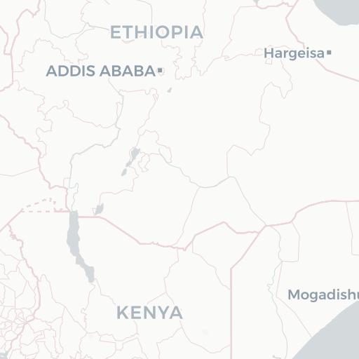 Major Rivers Kenya NYU Spatial Data Repository - Kenya rivers map