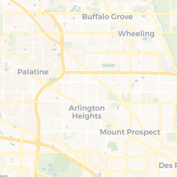 Chicago Cityscape - Map of building projects, properties, and