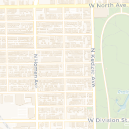 Garfield Park Chicago Map.Chicago Cityscape Map Of Building Projects Properties And